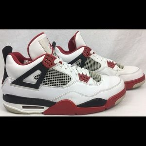 Air Jordan 4 IV 'Fire Red' 2012 Release Mens Shoes